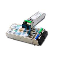 Cheap BiDi SFP Fiber Optic Transceiver Package With LC / SC Connector wholesale