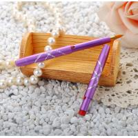 Cheap Portable Retractable Lipstick Brush Purple Handle Purple Handle Color wholesale