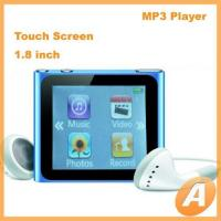 1.8 inch Nano 6th Mp4 Player with Touch Screen