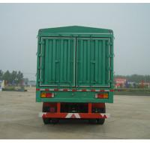 enclosed trailer china semi trailer air bag suspension - CIMC VEHICLE