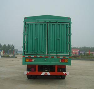 Cheap enclosed trailer china semi trailer air bag suspension - CIMC VEHICLE wholesale
