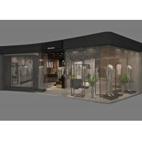 Simple Style Clothing Store Display Fixtures , Customized Retail Apparel Displays