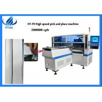 Cheap F9 PCB Pick And Place Machine 200000 CPH One Year Warranty For Panel Light wholesale