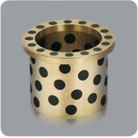 Buy cheap CHB-JDBB Oilless Self-lubricating Flange bronze Bushing with Graphite from wholesalers