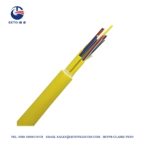 Cheap Indoor Mini 4000m PE Two Cores Om4 Fiber Patch Cables wholesale