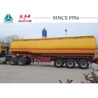 Buy cheap 40000 Liter Gasoline / Fuel Tanker Trailer With Germany Type BPW Axle For Sale from wholesalers