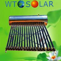heat pipe  porcelain enamel solar water heater