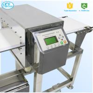 China FDA Standard Auto Conveyor Belt Food Grade Metal Detector 304 Stainless Steel on sale