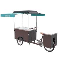 Quality Customizable Bicycle Freezer Cart For Vending Ice Cream CE Certificate for sale