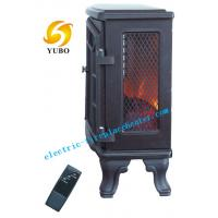 Cheap Indoor Standing 3D Flame Electric Fireplace Stove for 3 colors flame adjustable wholesale