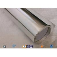 Cheap 572℉ Aluminium Foil Fiberglass Fabric For Roof Heat Insulation Non Water Permeability wholesale