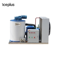 Buy cheap Fishery 10000kg Batching R22 R404a Flake Ice Machine from wholesalers