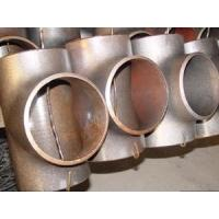 Cheap Compare A105 class150 Carbon steel equal tee Carbon A234 WPB B 16.9 carbon steel tees wholesale