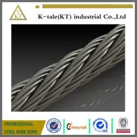 Cheap Hot sale stainless steel wire rope 7 x 7 aircraft cable wire rope wholesale