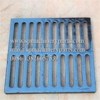 """Quality Class E600 duracoated extra heavy-duty 12"""" x 24"""" [305mm x 610mm] cast iron grate for sale"""