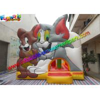 Cheap Amazing Tom And Jerry Commercial Bouncy Castles Inflatable Jumping House Water - Proof wholesale