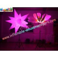Cheap 3m Inflatable Flower Led Lighting For Party Decoration wholesale