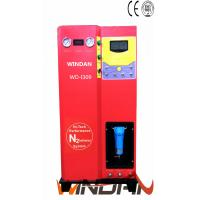 Cheap Car And Truck Tires Nitrogen Inflator Machine with Carbon Steel Cabinet , Electric Tyre Inflator wholesale