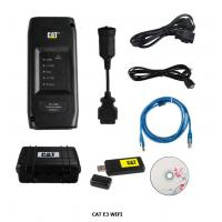 Cheap CAT E3 wifi Communications Adapter III 317-7485 diagnostic tools CAT E3 black with 7 parts in total package set wholesale