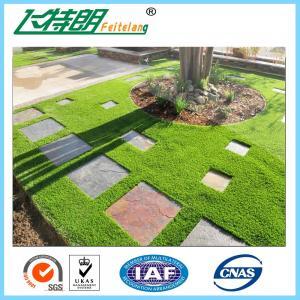 Buy cheap Soft Safe Garden Artificial Grass , Artificial Grass Landscape Turf 10mm - 70mm from wholesalers