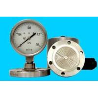 Cheap pressure instrument The welding flange divide pressure gauge wholesale