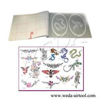 Cheap Airbrush Tattoo Stencil and Ink 6 wholesale