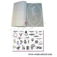 Cheap Airbrush Tattoo Stencil and Ink 5 wholesale