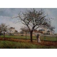 Cheap Impressionist(3830) The_House_of_Pere_Gallien,_Pontoise wholesale