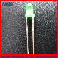 Cheap 3mm round led(3.0*5.3) green color wholesale