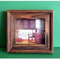 Wooden Handicraft Wooden photo frame (carbonization)