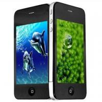 W360 dual sim cards dual standby mobile phone Wi-Fi JAVA 2.0 with Metal Body 3.5 inch touch screen