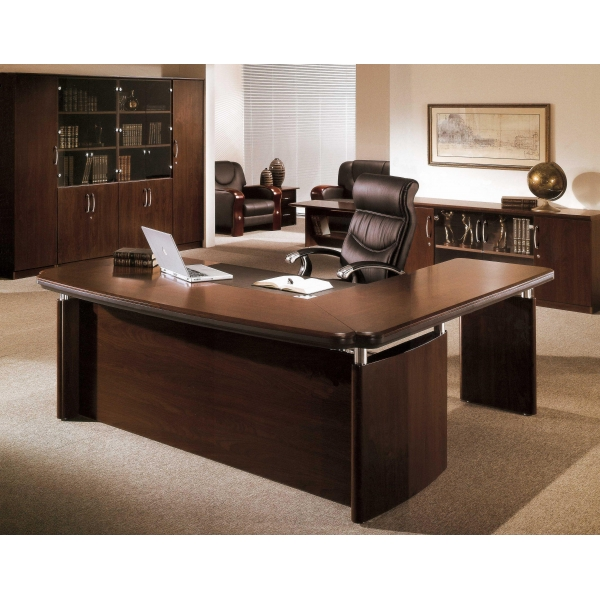 office desk executive desk side cupboard drawers cabinet horizontal