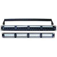 China Cat6 Patch Panel 24-Port on sale