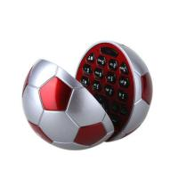 Cheap Football Shape Cellphone Quad Band JAVA Bluetooth Kids Cellphone wholesale