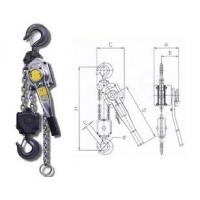 Lifting Components Specifications of lever hoist