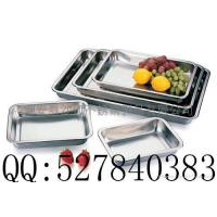 Cheap Square basin,tray,stainless steel squre plate,Rectangular plate wholesale