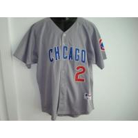 Cheap Mlb replica jerseys,Chicago Cubs 2 gray wholesale