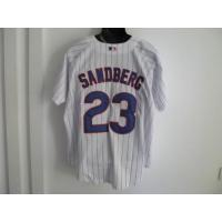 Cheap Mlb replica jerseys,Chicago Cubs 23 Sandberg white wholesale