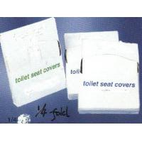 1/4 folding disposable toilet paper cover