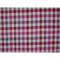 Yarn-dyed fabric Cotton-flax mixed yarn-dyed check