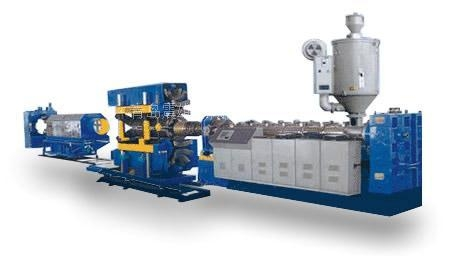 Quality PE/HDPE/PVC double-wall corrugated pipe production line for sale