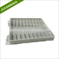 Cheap Factory price Medical Plastic Tray for medicine bottles with Clear Cover wholesale