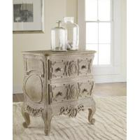 Cheap Chests & Dressers Carved French Bow Nightchest in Weathered Solids wholesale