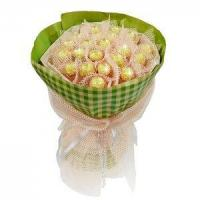 Cheap Birthday bouquet of 21 pieces of ferrero rocher NO.3 delivery birthday wholesale