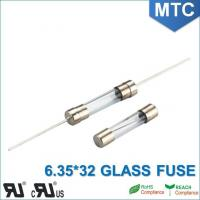 Cheap MTC 6.0*30mm 6.35X32mm 0.1~30A Time-Lag Glass Fuse wholesale