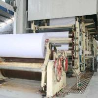 Buy cheap 1880mm 10T/day writing paper making machine from wholesalers