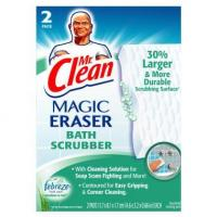 Mr. Clean Magic Eraser Bath Scrubber - Meadows & Rain, 2 ct