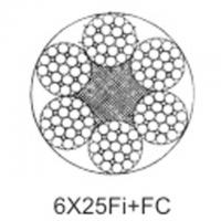 Cheap Steel aircraft cable 6X25Fi+FC wholesale