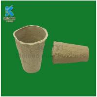 Cheap Recycled waste paper pulp flower pot wholesale