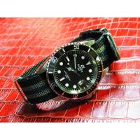 Cheap ALPHA SUBMARINER MATTE BLACK DIAL JAMES BOND NATO BAND AUTOMATIC WATCH MIYOTA JAPAN MOVEMENT wholesale